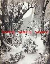 "Vintage Disney Christmas  Carol -1938 [ 8.5"" x 11"" ]  poster"