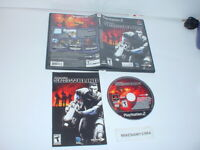 PROJECT: SNOWBLIND game complete in case w/ Manual for Sony Playstation 2 PS2