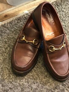 Genuine Gucci Brown Men's Loafers!