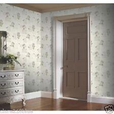 Home of Colour Botanic Garden Teal Lilac Wallpaper 10x0.53m 650305 A1 Vintage