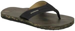 Quiksilver Island Oasis Sandal - Black / Brown / Green - New