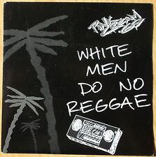 "PINK Cream 69 1 sided etched 7"": WHITE men do no reggae (Epic – Pro 627)"