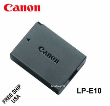 Canon LP-E10 Battery for Canon REBEL T3 T5 T6 1100D 1200D 1300 T3/T5/T6/T7-USA