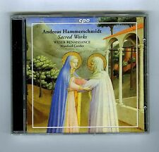 CD (NEW) ANDREAS HAMMERSCHMIDT SACRED WORKS MANFRED CORDES
