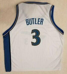 Mitchell /& Ness Herren T-Shirt Washington Wizards Caron Butler Schwarz