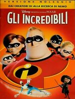 GLI INCREDIBILI (2004) un film di Brad Bird ANIMAZIONE PIXAR - DVD EX NOLEGGIO