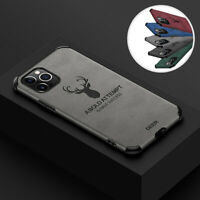 For iPhone 11 Pro Max XS Max XR XS X 7 8 Plus SE2 Slim Leather Matte Case Cover