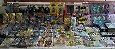 Large Lot of (100) DC Batman Figures Direct ToyBiz Mattel, all MOC MIB