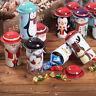 Iron Storage Jar Tin Box Candy Box Bucket Children Christmas Gifts Home De ZS TW