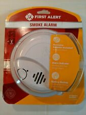 FIRST ALERT Hardwire Smoke Detector Alarm  With 10 Years Lithium Battery Backup