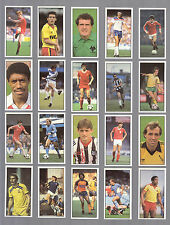 CIGARETTE/TRADE/CARDS. Bassett Sweets. FOOTBALL 1983/84. (Complete Set of 50).