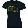 Ladies Best Mum In The Galaxy T-shirt Funny Star Mothers Day Wife Gift Wars Tee