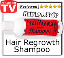 NUTRIFOLICA HAIR LOSS REGROWTH - GROWTH SHAMPOO permed dyed dye hair men & women