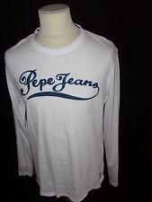 T-shirt Pepe Jeans  Blanc Taille L à - 57%