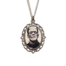 Monstruo de Frankenstein's Collar De Plata Gótico Universal Studios Boris Karloff