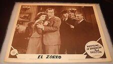 1943 Whistling in Brooklyn Dodgers Baseball El Zorro Movie Lobby Card Poster v2