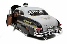 1949 MERCURY RAT ROD POLICE 1OF700 MADE 1/18 MODEL CAR BY AUTOWORLD  AMM961