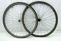 Shimano 600 Tricolor 650c Road Bike Wheelset Campagnolo 19mm 571ISO USA Charity!