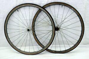 Shimano 600 Tricolor 650b Road Bike Wheelset Campagnolo 19mm 571ISO USA Charity!