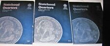 BIG LOT STATEHOOD QUARTERS 6 BOOKS 1999-2008 & LINCOLN PENNIES 4 BOOKS 1909-1958