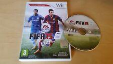 Fifa 15 Edición Legacy Nintendo Wii Juego de Fútbol