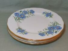More details for 4 queen anne bone china salad plates 8¼