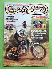 CLASSIC BIKE - July 1987 - 350cc MV Sport - 500cc Seeley G50 - Motorcycle