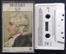 Mozart At His Best Various Artists Tape Cassette (C12)