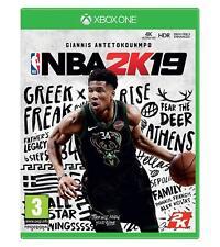 NBA 2K19 Basket Ball Nintendo XBOX ONE XB1 Pre-Order Release Date 11/09/2018