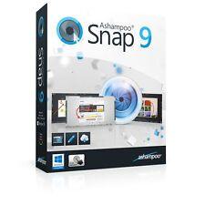 Ashampoo Snap 9 deutsche Vollversion Lifetime Lebenslang Download nur 9,99 !