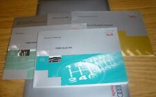 1998 AUDI A4 OWNERS MANUAL SET 98 GUIDE w/case