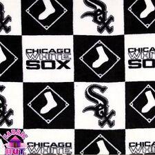 Chicago White Sox Checkered MLB Fleece Fabric 6573 B