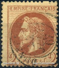 FRANCE EMPIRE N° 26 OBLITERATION + VARIETE DENTELURE ABSENTE A VOIR