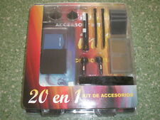 NDS KIT DE ACCESORIOS 20 EN 1 DS KIT ACCESSORIES 20 IN 1 NINTENDO DS