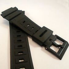 WATCH STRAP fits CASIO G-SHOCK DW5600C 5700 5800 Black Rubber Resin Replacement