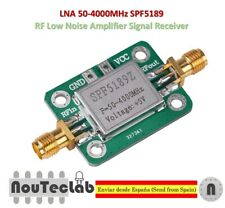 LNA 50-4000MHz SPF5189 RF Low Noise Amplifier Signal Receiver NF 0.6dB SPF5189Z