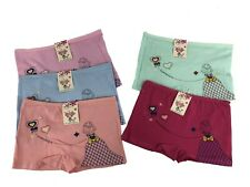 New Lot 5 Girl Beautiful Girl Cotton Boxer Briefs #C308