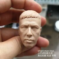 Free Shipping 1:6 scale Head Sculpt Donnie Yen KongFu Star YiP Man unpainted