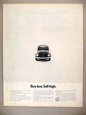 Volkswagen VW Beetle Bug PRINT AD - 1971