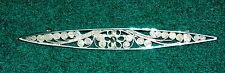 Filigran Brosche Silber 800  Länge 6,7cm