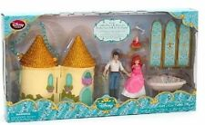 Disney Store Ariel Mini Castle Playset Eric Sebastian Bnib Sold Out!