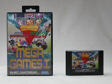 Mega Games 1 / I - Spiele-Sammlung 3 in 1 für SEGA Mega Drive / SMD