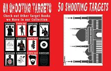 50 Shooting Targets #2: #257 - 50 Shooting Targets 8. 5 X 11 - Silhouette, Targe