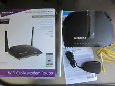 Netgear C6220-100NAS Dual Band AC1200 Wi-Fi Cable Modem & Router