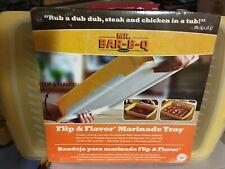 Mr Bar-B-Q Flip & Flavor Marinade Tray 2Pc Set - New in Package Nr
