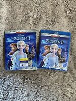 Frozen 2 II (2020) Blu-ray + DVD + Digital Code With Slipcover Brand New