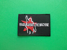HEAVY METAL PUNK ROCK MUSIC SEW ON / IRON ON PATCH:- RAGE AGAINST THE MACHINE c