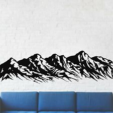 Metal Mountain Art, Metal Wall Art, 5 Peaks Mountain Range, Metal Wall Decor