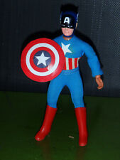 Mego vintage Captain America 8 inch action figure with original shield
