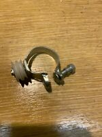 Sachs Huret Downtube Gear Wire Cable Guide Pulley Clamp. NOS. #576